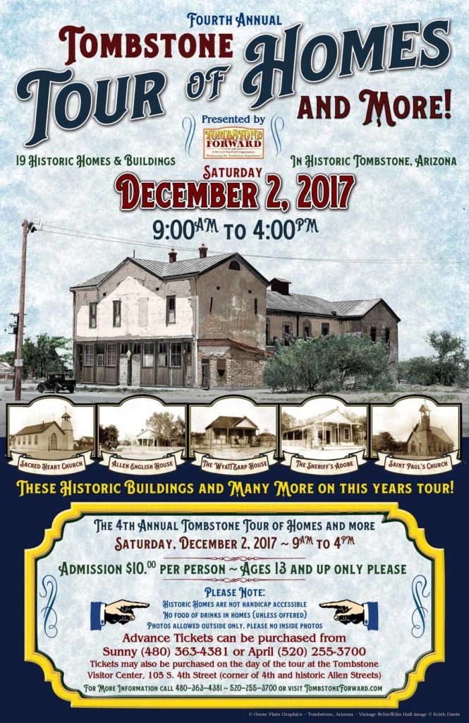 Tombstone Tour of  Homes and More 2017